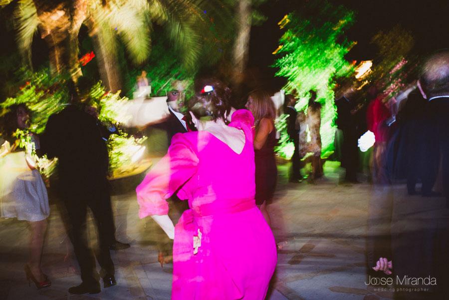 Madrina bailando en el Cortijo el Madroño en Martos