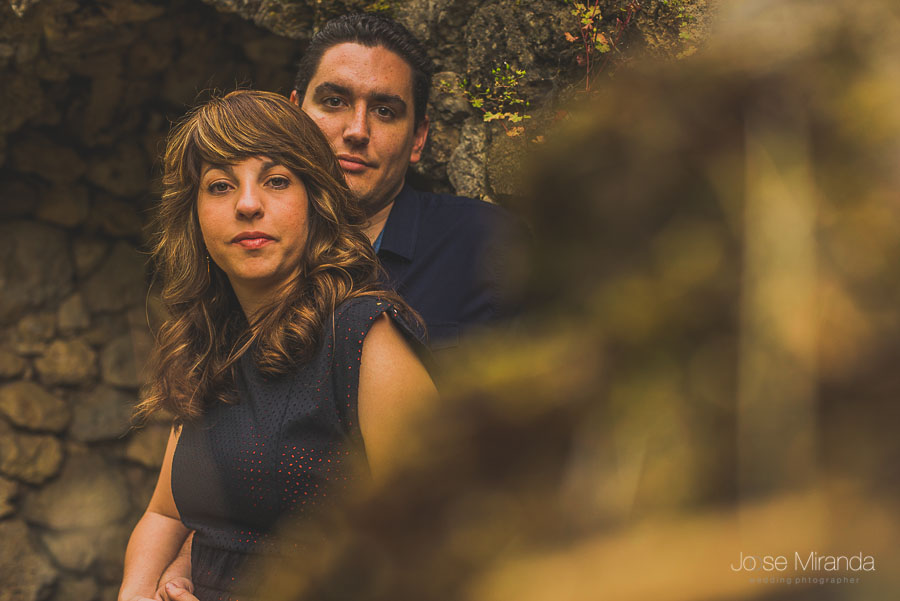 Juan y Bea en una fotografía de pre-boda en Jaén de Jose Miranda