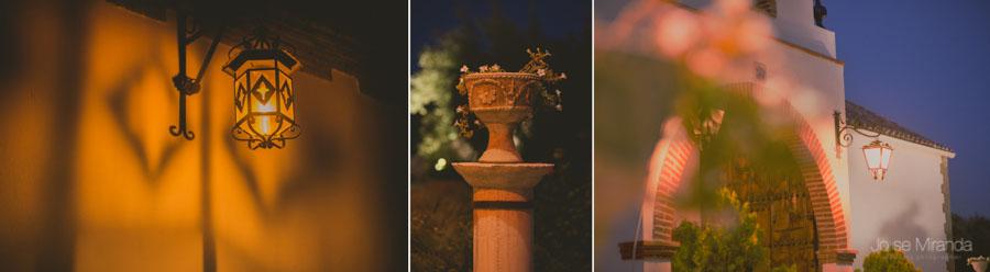 Detalles de el Cortijo el Madroño donde se realizó la boda
