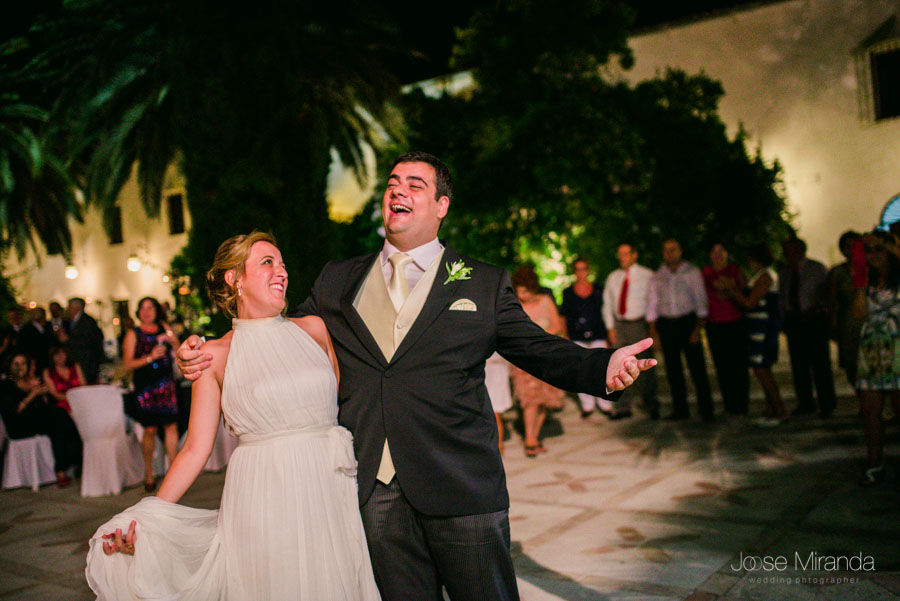 Comienza la fiesta en la boda de el Cortijo el Madroño