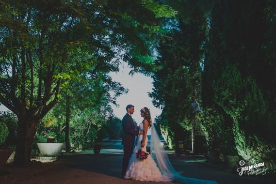 Gemma y Miguel, boda civil en el Madroño.