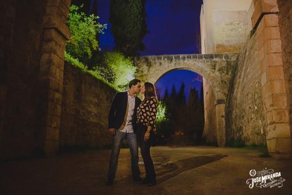 Esther y Andrés por Granada
