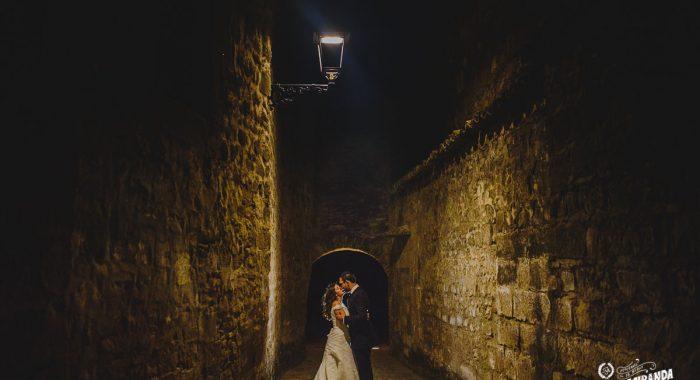 Laura y Javi,  trash en el Palacio de los Salcedo y Baeza.