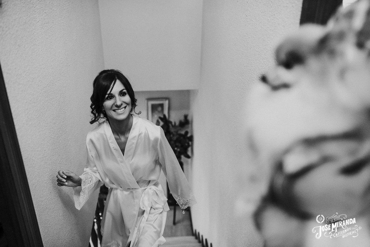 Jose Miranda fotografia novia boda Eli y Pedro en Torredonjimeno
