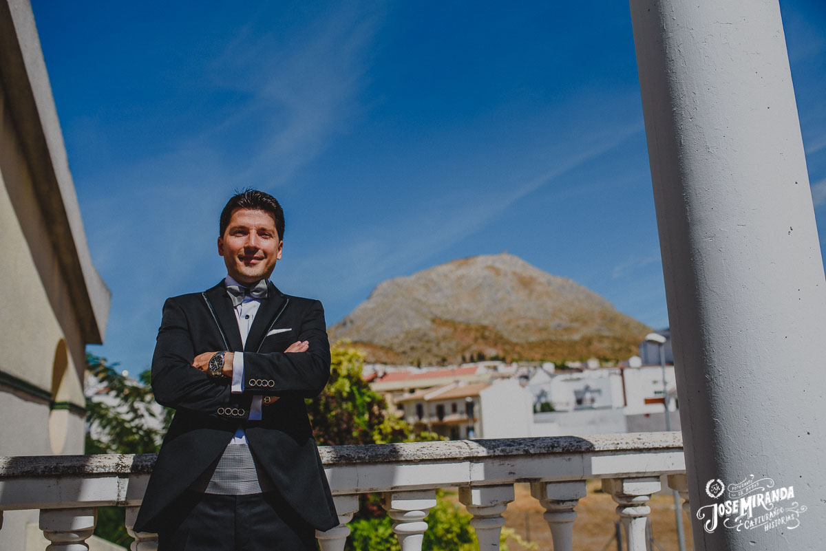 Jose Miranda fotografia boda Torredonjimeno casa novio