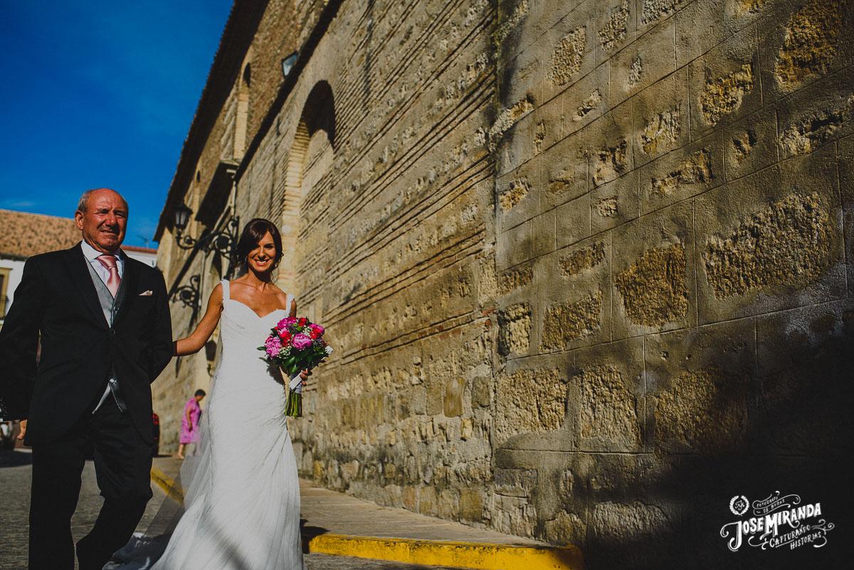 Jose Miranda Fotografia boda religiosa Torredonjimeno Eli y Pedro