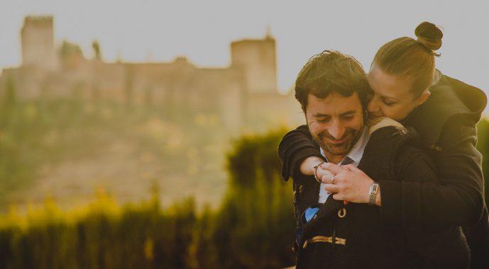 Raquel y Raúl, vermouth y té.
